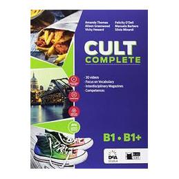 CULT COMPLETE B1/B1 + EBOOK STUDENT BOOK & WORKBOOK + ENTRY BOOK + PRELIMINARY + EASY EBOOK (SU DVD)