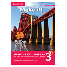 MAKE IT! LEVEL 3 WITH EBOOK + INVALSI COMPANION STUDENT Vol. 3