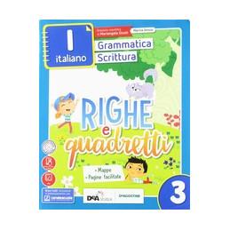 RIGHE E QUADRETTI CLASSE 3 + EBOOK  Vol. 3