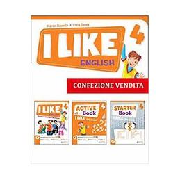 I LIKE ENGLISH - 4  Vol. 1