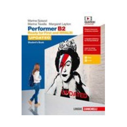 PERFORMER B2 UPDATED - STUDENT`S BOOK (LDM) READY FOR FIRST AND INVALSI Vol. U