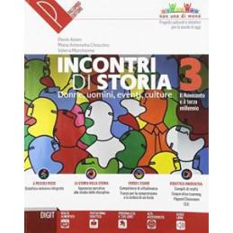 INCONTRI DI STORIA 3 DONNE, UOMINI, EVENTI, CULTURE Vol. 3