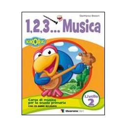 1, 2, 3... MUSICA 2 LIV. + CD