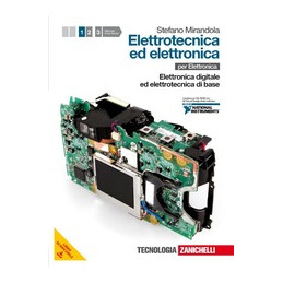 ELETTROTECNICA ED ELETTRONICA 1 + CD ROM (LMS) ELETTRONICA DIGITALE ED ELETTROTECNICA DI BASE + PDF