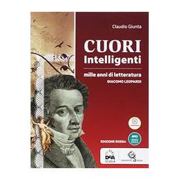 CUORI INTELLIGENTI EDIZIONE ROSSA VOLUME LEOPARDI + EBOOK  Vol. U