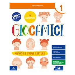 GIOCAMICI. PER LA SCUOLA ELEMENTARE. CON E-BOOK. CON ESPANSIONE ONLINE. VOL. 1B