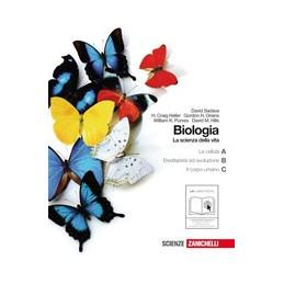 BIOLOGIA. LA SCIENZA DELLA VITA A+B+C (LM LIBRO MISTO) CELLULA + EREDITARIETA` E EVOLUZIONE + CORPO