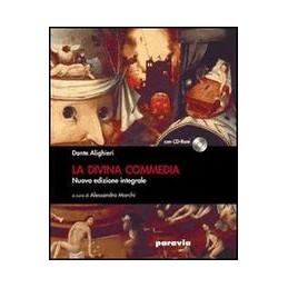 DIVINA COMMEDIA (LA) NUOVA EDIZIONE INTEGRALE CON CD ROM VOL. U