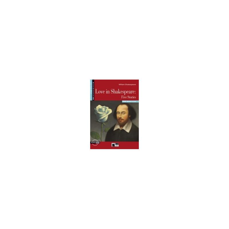 LOVE IN SHAKESPEARE: FIVE STORIES BOOK + CD Vol. U