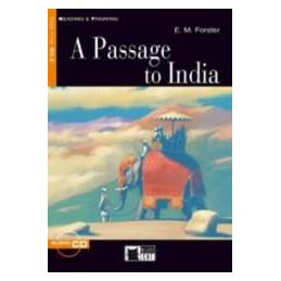 PASSAGE TO INDIA (A) + CD  VOL. U
