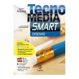 TECNOMEDIA SMART DISEGNO CON DVD+SETT.PROD.CON DVD+MI PREP.PER INT.+TAVOLE+LAB.COMP.ONLINE VOL. U