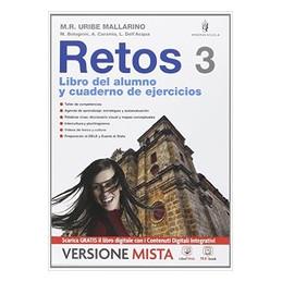 RETOS VOL 3 + PALABRAS VIVAS 3 VOL. 3