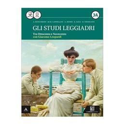 STUDI LEGGIADRI (GLI) VOLUME 3A   LEOPARDI + 3B VOL. 3