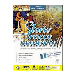 STORIE TRACCE MEMORIE VOL. 1 + ATLANTE + STORIA ANTICA + COMPETENZE