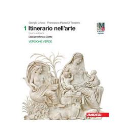 ITINERARIO NELL`ARTE VOL. 1 ED. VERDE 4E LDM