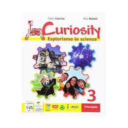 CURIOSITY 3 + DVD ESPLORIAMO LE SCIENZE Vol. 3
