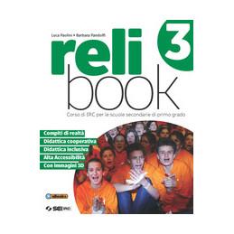 RELIBOOK 3 CORSO DI IRC CON NULLA OSTA CEI VOL. 3