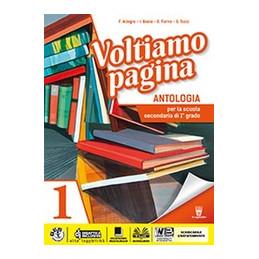 VOLTIAMO PAGINA  1 + MITI+EPICA+COMPETENZE  VOL. 1