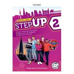 STEP UP 2: DIGITAL PACK SB&WB&EXTRABK + CD + EBK HUB + EBK CD + MIND MAPS BK + 16 EREAD + STUDYAPP V