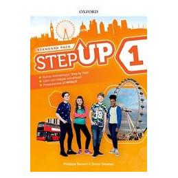 STEP UP 1: STANDARD SB&WB&EXTRABK + CD + MIND MAPS BK VOL. 1