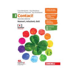 CONTACI! - CONF. 1 - SECONDA EDIZIONE (LDM) NUMERI, RELAZIONI, DATI 1 + MISURE, SPAZIO E FIGURE 1  +