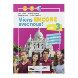 VIENS ENCORE AVEC NOUS! LIVRE  +ESAME STATO FRANCAIS NOUVEAU + EASY BOOK (SU DVD) + EBOOK Vol. 3