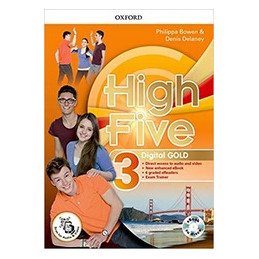HIGH FIVE 3 GOLD PK (SB/WB CON QR CODE + EXAM TRN  E EBOOK + EBOOK CODE + EBOOK DISC + 6 ERDR VOL. 3