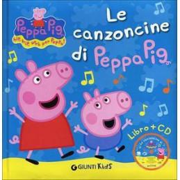 CANZONCINE DI PEPPA PIG + CD