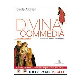 DIVINA COMMEDIA (LA)   TESTO INTEGRALE VOLUME UNICO + ME BOOK + CONTENUTI DIGITALI VOL. U