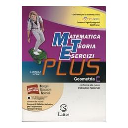 MATEMATICA TEORIA ESERCIZI PLUS GEOMETRIA C CON DVD VOL. 3