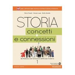 STORIA CONCETTI CONNESSIONI 1 VOL+ITE+DIDA