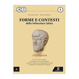 FORME E CONTESTI DELLA LETT  LATINA VOLUME 3 VOL. 3