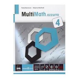 MULTIMATH AZZURRO VOLUME 4 + EBOOK SECONDO BIENNIO E QUINTO ANNO VOL. 2