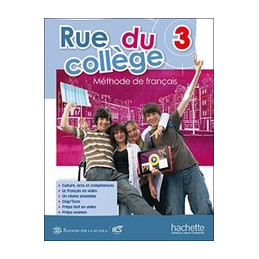 RUE DU COLLEGE 3 - LIBRO MISTO CON OPENBOOK VOLUME 3 + CD ROM + SYNTHESE GRAMMATICALE + EXTRAKIT + O