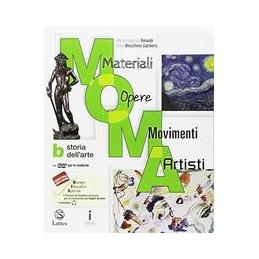 M.O.M.A. VOL. A +B (MOMA) CON ALBUM+C+MI PREP.INT. MATERIALI-OPERE-MOVIMENTI-ARTISTI VOL. U