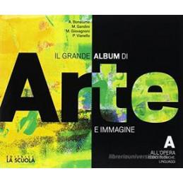 GRANDE ALBUM ARTE  A + ARTE + B + DVD 57899 57900 KIT ALU  Vol. U