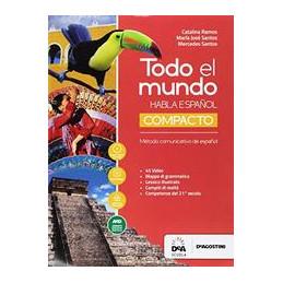 TODO EL MUNDO - COMPACTO + EBOOK LIBRO DEL ALUMNO Y CUADERNO  + EASY EBOOK (ANCHE SU DVD) Vol. U