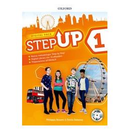 STEP UP 1 DIGITAL PACK STUDENT`S BOOK WORKBOOK CON STUDYAPP, MIND MAP, 16 EREAD, HUB. CON EB