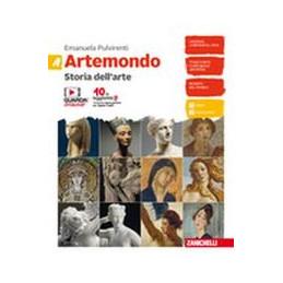 ARTEMONDO  - CONFEZIONE VOLUME A + ALBUM + VOLUME B (LDM) STORIA ARTE + 50 CAPOLAVORI + LINGUAGGIO V