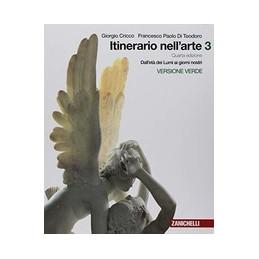 ITINERARIO NELL`ARTE 4A EDIZIONE VERSIONE VERDE - VOLUME 3 (LDM) DALL`ET VOL. 3