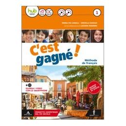 C`EST GAGNE`! VOLUME 1 + POUR TOUS + CD ROM MP3 + DVD + OTTAVINO VERBI VOL. 1
