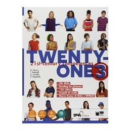 TWENTY ONE 3 STUDENT`S BOOK WORKBOOK CON MAP IT! PER LA SCUOLA MEDIA. CON EBOOK. CON ESPANSIONE ONLI