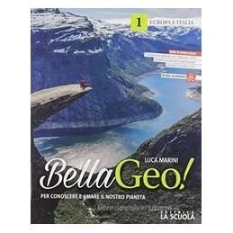 BELLAGEO 1 + ALBUM REGIONI ITALIANE KIT GEOGRAFIA VOL. 1
