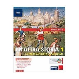 ALTRA STORIA (UN`)  LIBRO MISTO CON LIBRO DIGITALE VOLUME 1 CON OSSERVO IMPARO CON HUB YOUNG E HUB K