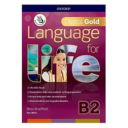 LANGUAGE FOR LIFE B2 GOLD PK (STUDENT BOOK/WOORKBOOK CON QR CODE + EBOOK CODE + 16 ERDRS + FIRST TES