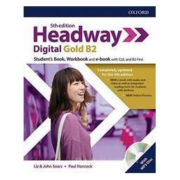 HEADWAY 5E DIG GOLD B2 STUDENT BOOK/WOORKBOOK W/O KEY + SRC Vol. U