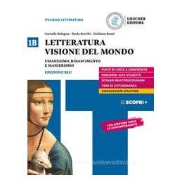 LETTERATURA VISIONE MONDO V.1B ND Vol. 1