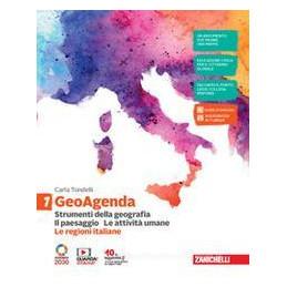 GEOAGENDA  - VOL. 1 CON LE REGIONI ITALIANE (LDM) STRUMENTI DELLA GEOGRAFIA. IL PAESAGGIO. LE ATTIVI