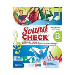 SOUND CHECK B + PIEGHEVOLE ACCORDI + MIO BOOK  Vol. U