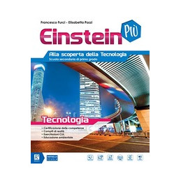 EINSTEIN PIU` TECNOLOGIA+DISEGNO+MIO BOOK  Vol. U